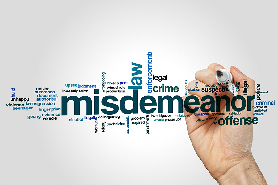 What Are the Different Types of Misdemeanor Offenses in Utah?