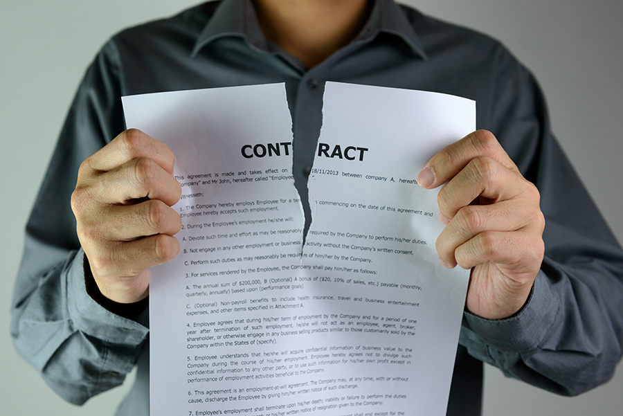 When Does a Breach of Contract Happen?